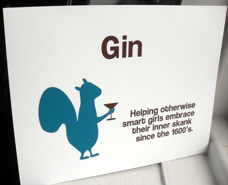 Funny cards Booze and History squirrel 4 funny handmade cards WG182. $ 13.00, via Etsy.