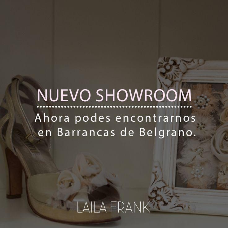 ¡Nos mudamos! 🎉  Para venir a conocer nuestro nuevo showroom en Barrancas de Belgrano escribinos a shoes@lailafrank.com para coordinar una cita. ¡Te esperamos! 😘  #LailaFrank #Showroom #Zapatos #Calzado #Shoes