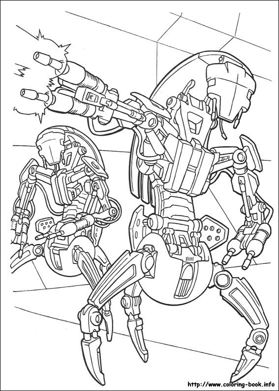 Find out your favorite coloring sheets in star wars coloring pages enjoy coloring with the colors of your choice if you like this robots coloring page