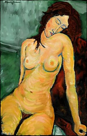 Modigliani is one of my favorite painters, his portrait work, in a style uniquely his, is amazing.
