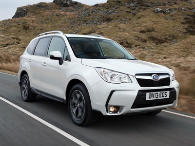 "The new Subaru Forester scored top marks in a severe new frontal crash test conducted by the Insurance Institute for Highway Safety (IIHS) in the USA and the only small SUV to achieve the highest (""good"") rating."
