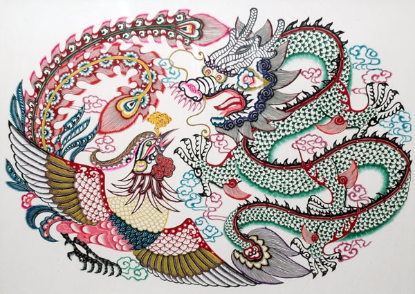 chinese paper cutting templates dragon - 107 best images about the ancient chinese art of paper