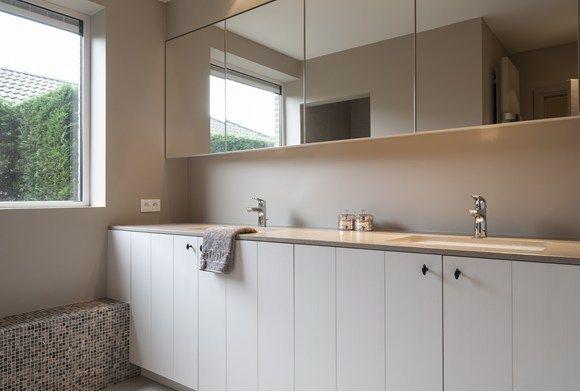 Strak landelijke keuken en badkamer - Portfolio - Expro - Interieurarchitect Josfien Maes