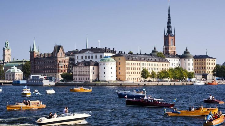 Riddarholmen Island - Stockholm, Sweden