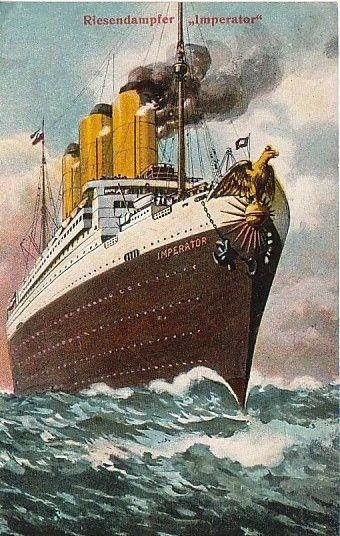 SS Imperator. -- Hamburg America Line, 1913