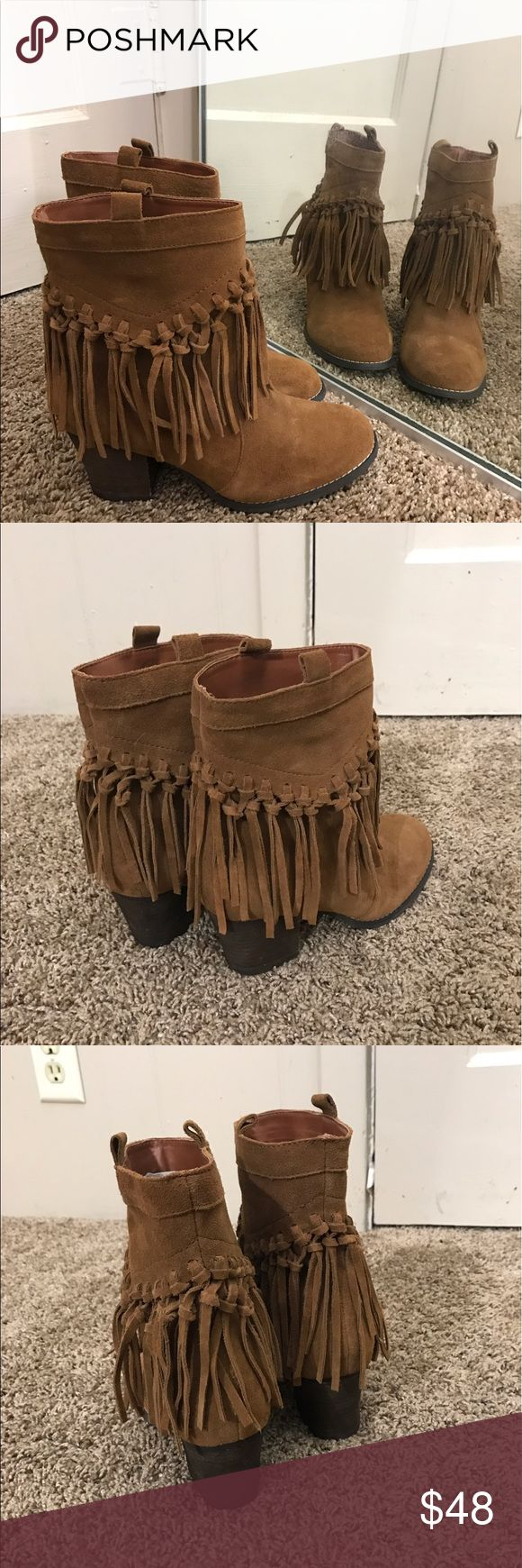 Sbicca vintage collection fringe boot Virtually new Sbicca Shoes