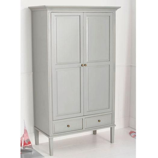 Archie 2 Door Childrens Wardrobe in Cool Grey. Other colours available. See our website for more details.
