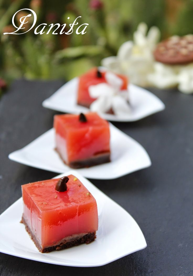 Le leccornie di Danita: Gelo di mellone (anguria) finger food