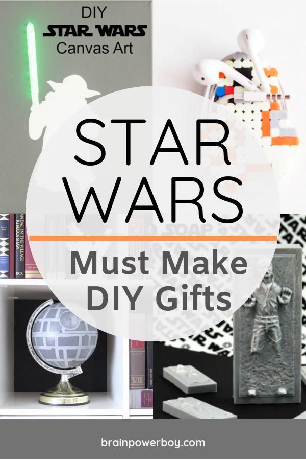 Diy Star Wars Gifts That You Simply Must Make Diy Star Wars Gifts Star Wars Diy Unique Star Wars Gifts