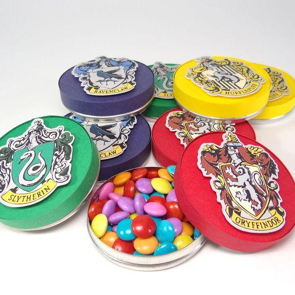 Latinha - Harry Potter - Hogwarts - Lembrancinha - Festa