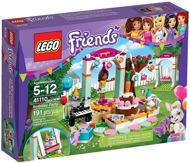 LEGO Friends 41110 - Birthday Party #lego #legofriends #legofriends2016