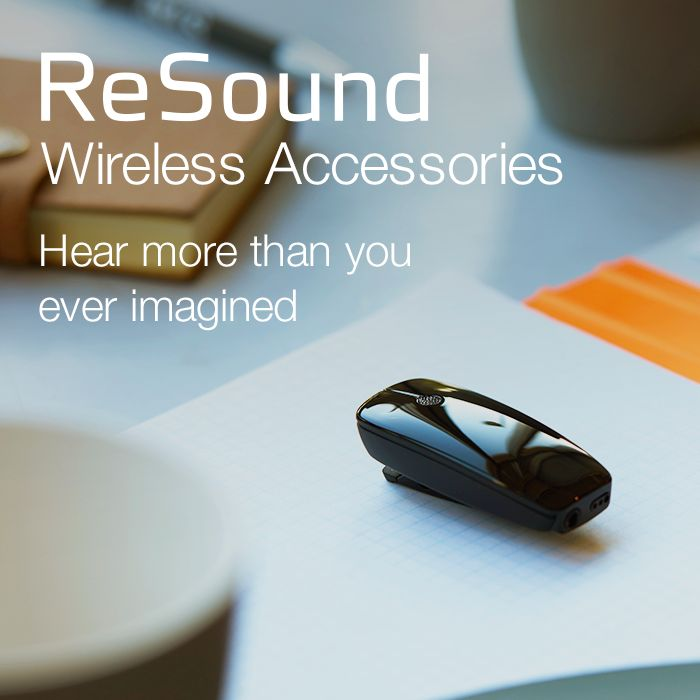 GN ReSound offers a complete solution of integrated wireless connectivity across the entire product range so you can stream audio, personalise your sound and control your hearing aids without the need for an intermediary device. Visit resound.com/en-AU/hearing-aids/accessories