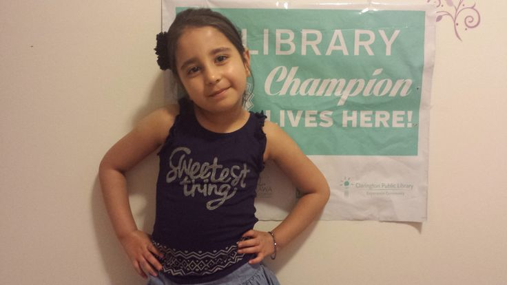 Congratulations to Sataesh for becoming a Library Champion!  We're so proud of you, keep up the great work!