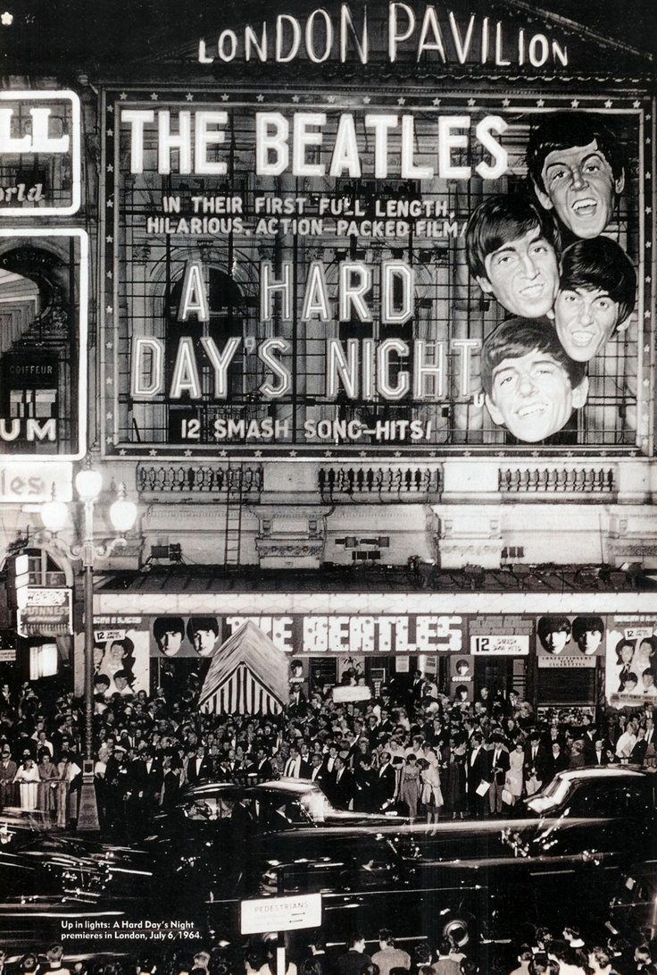 London Pavilion - A Hard Day's Night
