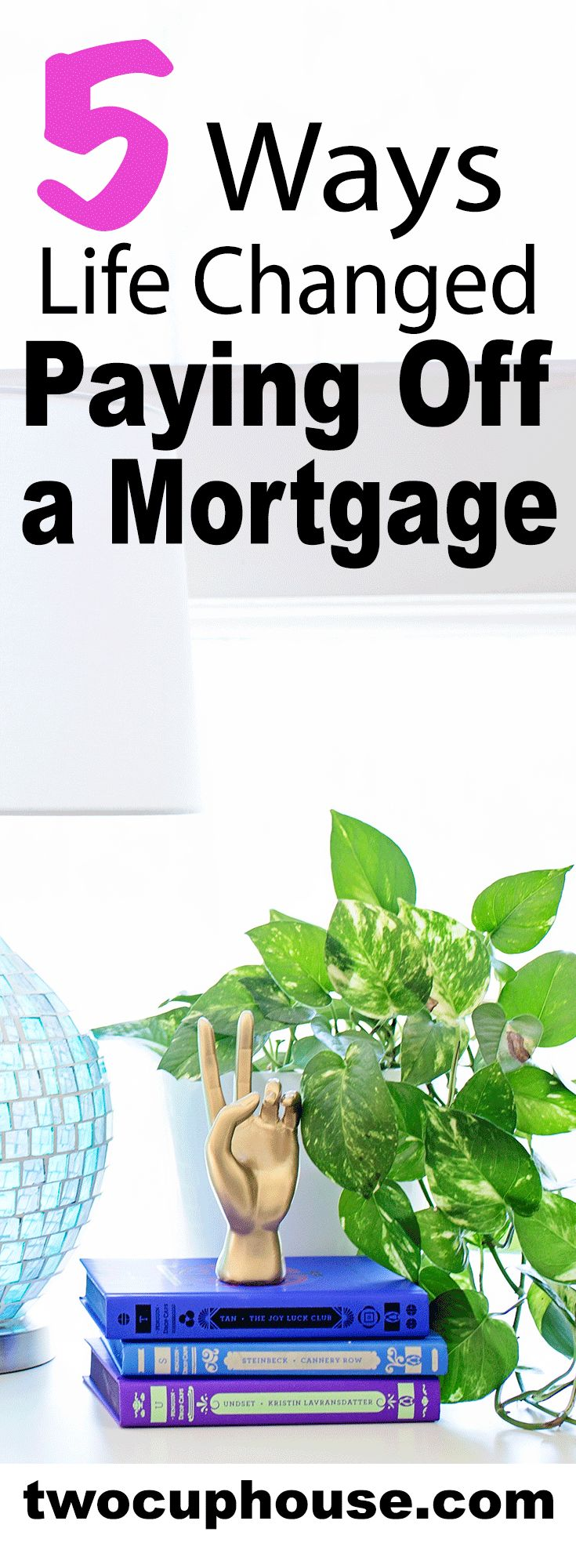 """Paid off your mortgage and wondering, """"Now what?"""" Living mortgage free means more options than we did when we were in debt. Living mortgage free means more flexibility than we did when we were in debt. Living mortgage free means having more to invest in financial independence/early retirement. If you're paying off debt, this is a MUST read post to help you stay motivated through your debt repayment. And get personal finance tips for saving money, making money online, and starting a side…"""