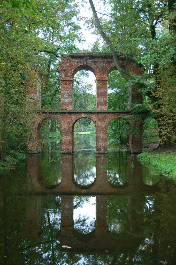 A romantic park founded by Helena Radziwiłłowa (1778) in Arkadia, a village in the north-eastern part of Łódź Voivodship, Poland.