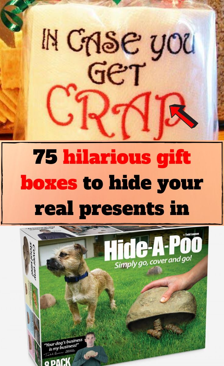 75 of the funniest gag gift boxes to make your gift extra