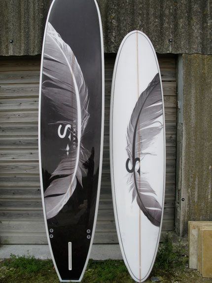 light as a feather / swami's phantom feather surfboards