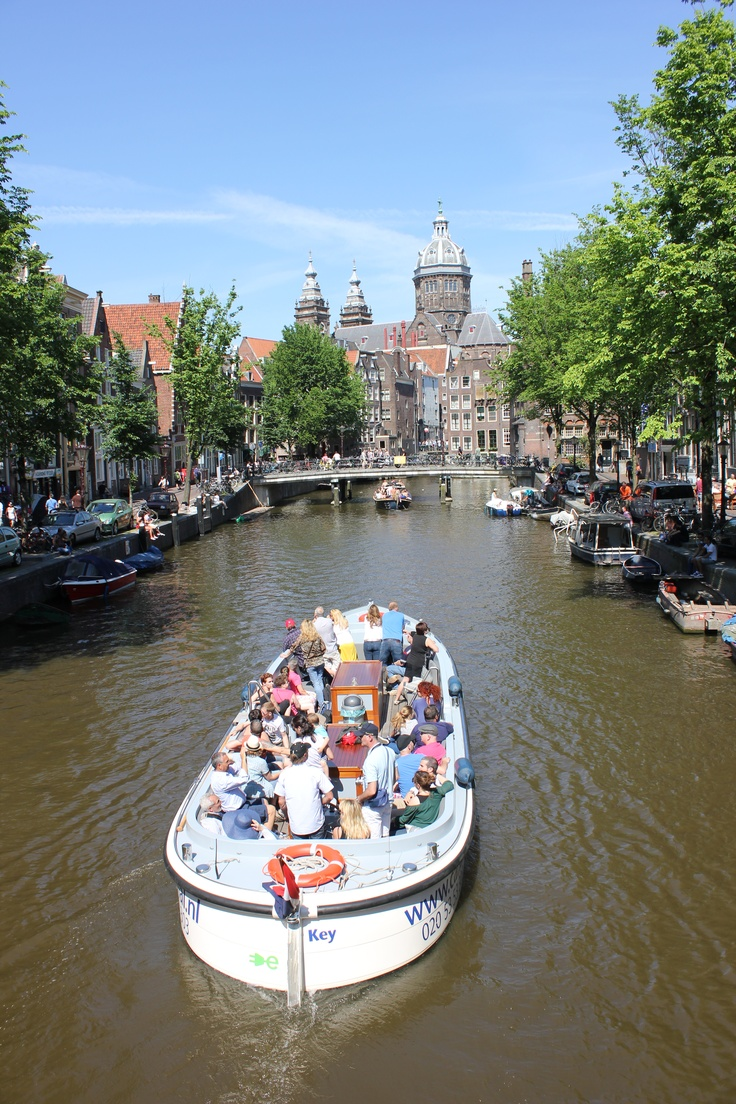 Cruising in Amsterdam, The Netherlands