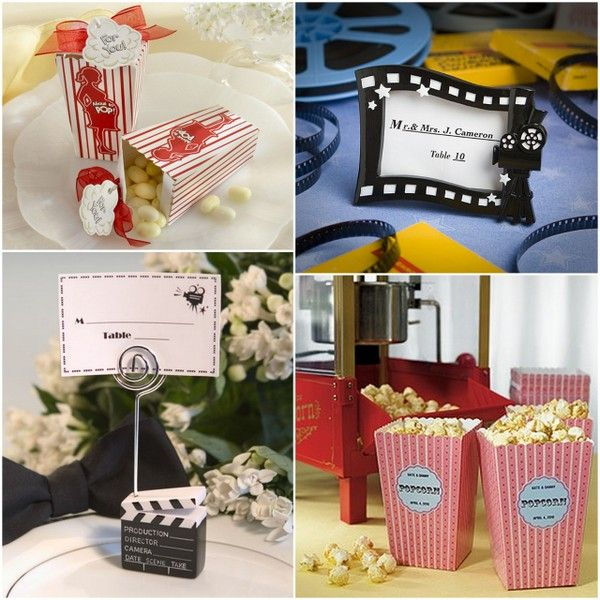 Movie Themed Wedding and Party Favors from HotRef.com