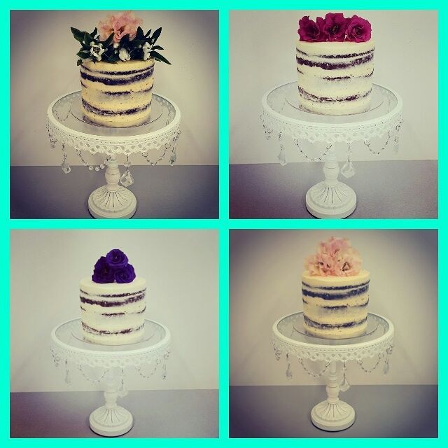 Naked Cakes with Flowers