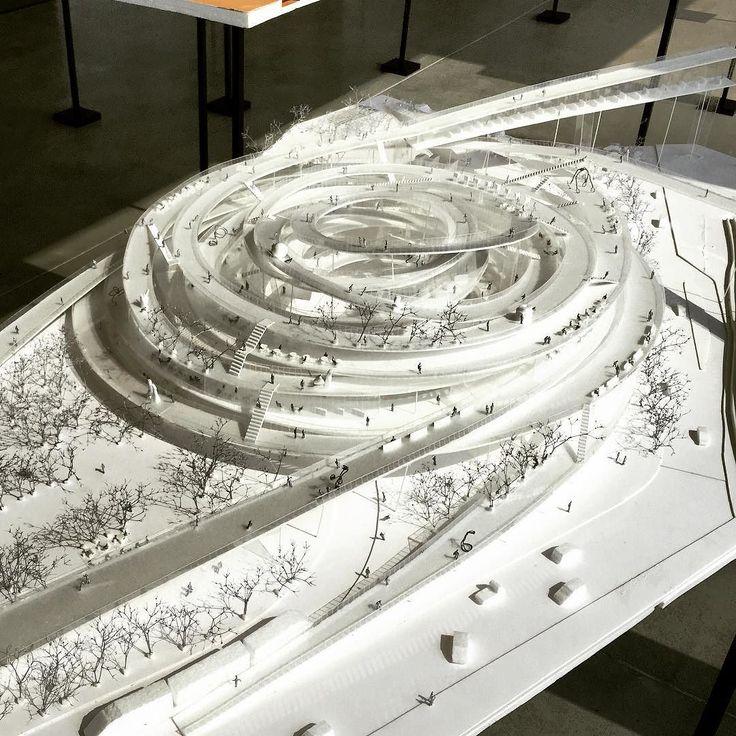 #nextarch by @busyshawn #next_top_architects #Soufujimoto #藤本壮介 #未来之未来 #建筑 #模型 #architecture
