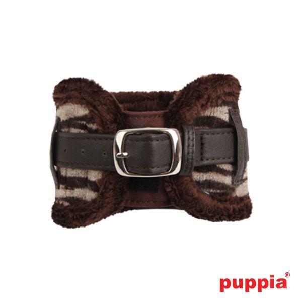 Halsband zebra motief voor de echte Diva honden