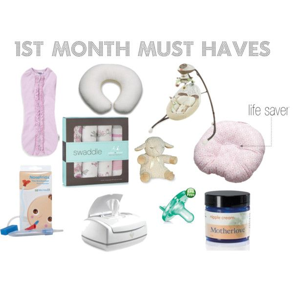 1st month must haves  |  TRUTH!  I would have loved this list the first time around.  I had all of these items at one point or another