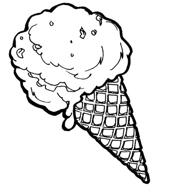 free snow cone coloring pages - photo#20