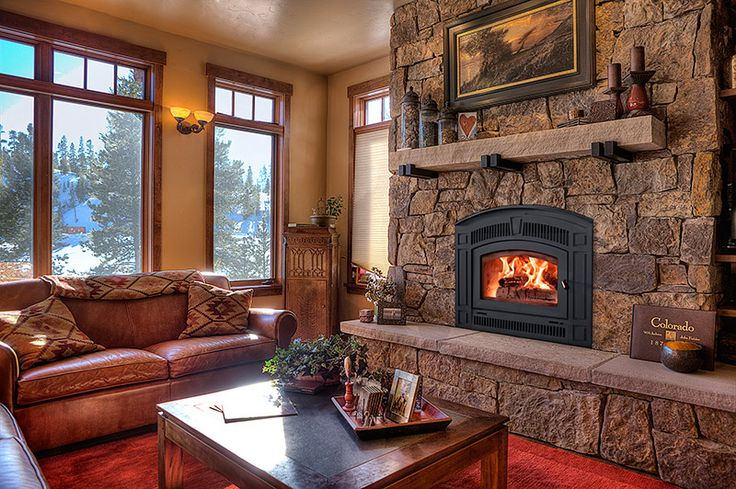 RSF fireplaces are traditional style wood burning fireplaces that ...