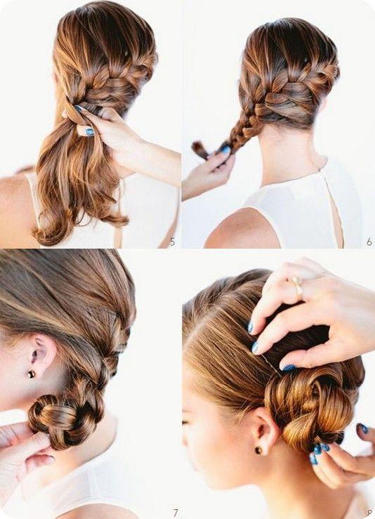 Die Besten 25 Frisuren Selber Machen Ideen Auf Pinterest Die Dir