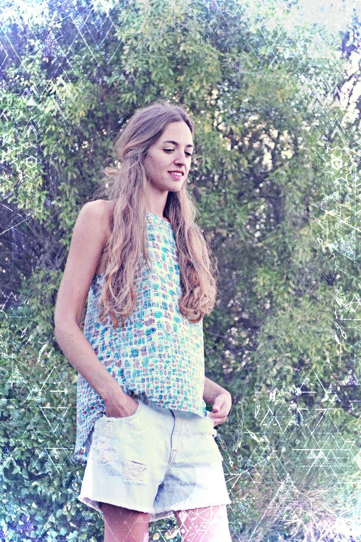 Having a blue Sunday? Badila SS15 SHOP > badila.gr