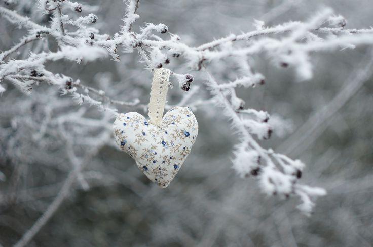 Lavender heart.