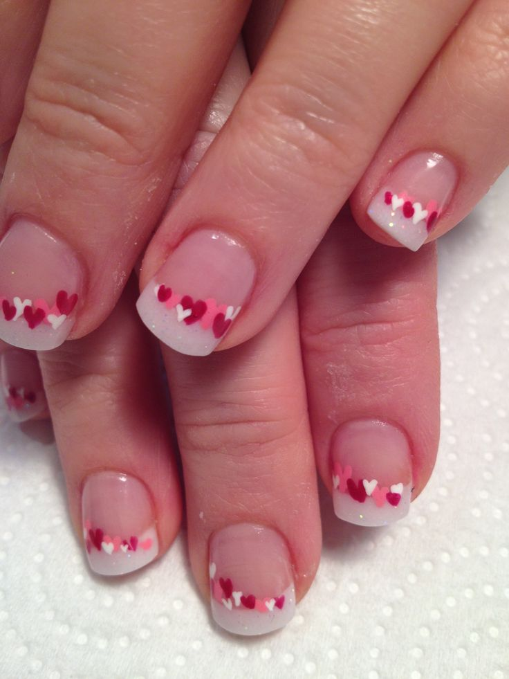Valentines day nails  CLICK.TO.SEE.MORE.eldressico.com