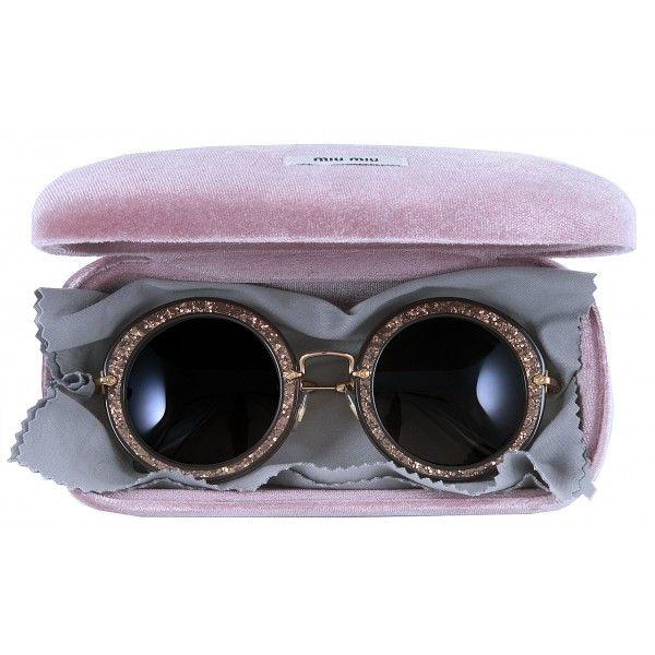 9 Best Miu Miu Noir Round Sunglasses Fashion Italian