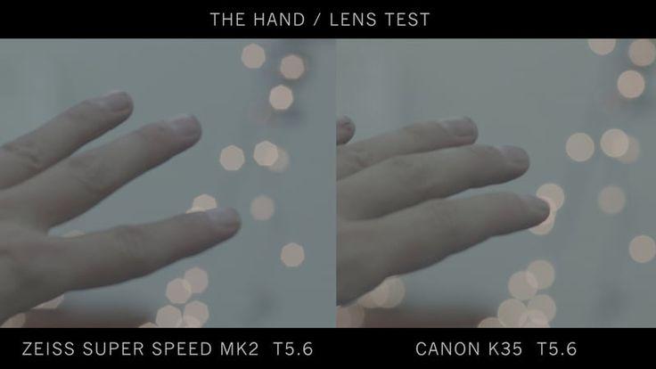 canon K35 lens test on Vimeo
