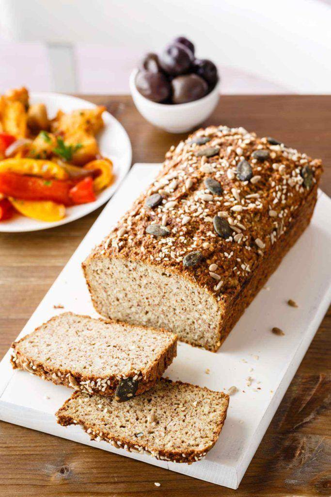 Low Carb Cauliflower Bread Recipe Cauliflower Bread