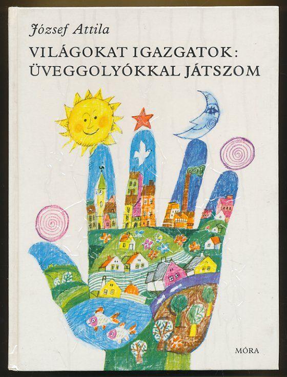 WÜRTZ ÁDÁM - - - József Attila: Világokat igazgatok / Üveggolyókkal játszom (könyvajánló) - Würtz Ádám illusztráció