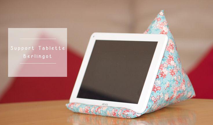 Tutoriel couture Support tablette berlingot                                                                                                                                                                                 Plus