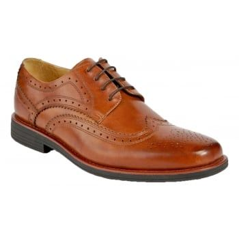 The Steptronic Aldershot are a streamlined pair of men's formal lace ups that feature premium uppers and secure lace fastenings. This lace-up pairs a classic silhouette with modern day updates, while maintaining its superb quality and unique details for today's fashion forward man. https://www.marshallshoes.co.uk/mens-c1/steptronic-mens-aldershot-cognac-lace-up-brogue-shoes-p3948