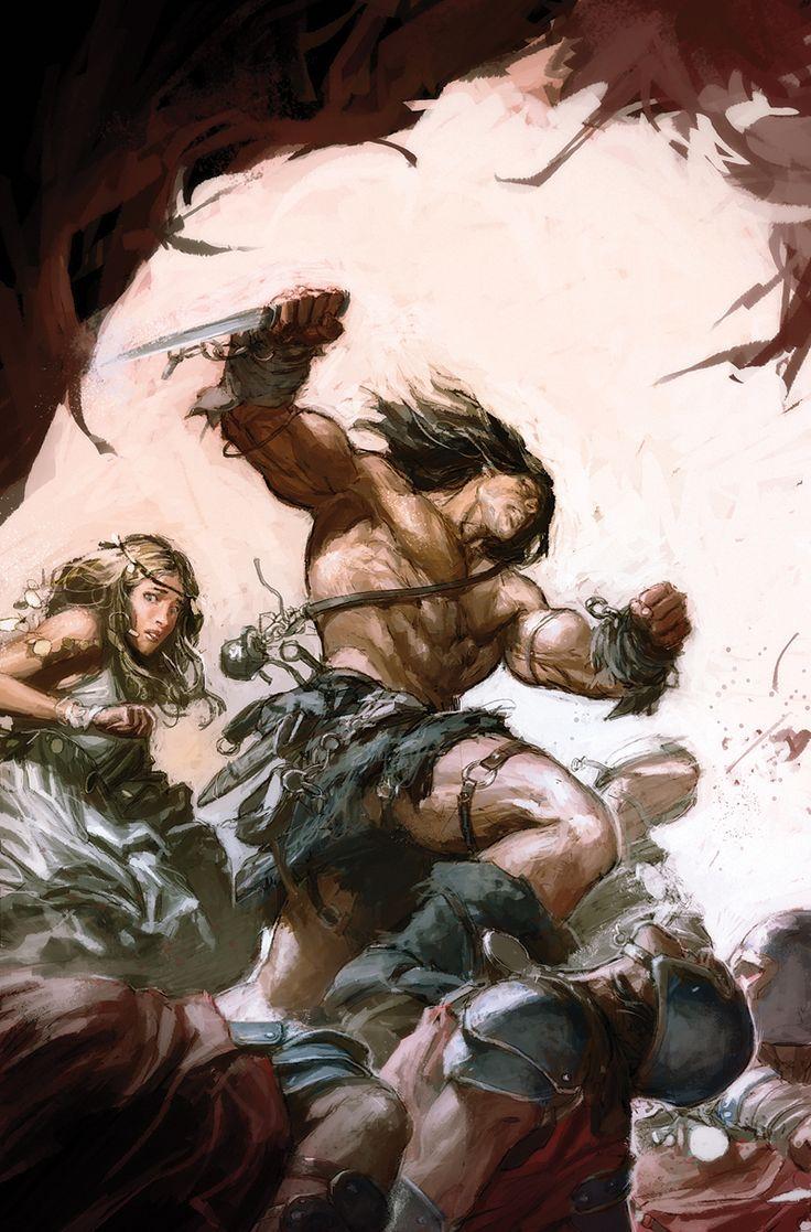 Conan King - Dungeon fight
