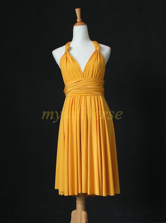 Evening dress knee length infinity
