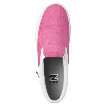 Worn Pink Slip-On Sneakers  $78.25  by FearlessDiva  - cyo diy customize personalize unique