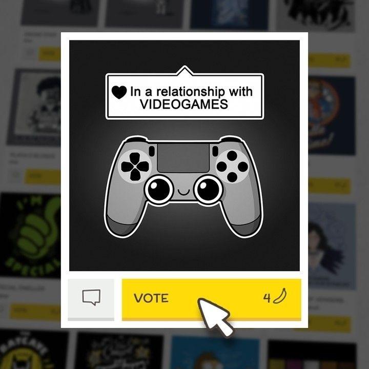 (EN) Were pleased to present our latest t-shirt designs ! VOTE for your favorites on WWW.WISTITEE.COM (FR) De nouveaux designs sont disponibles ! VOTEZ pour vos préférés sur WWW.WISTITEE.COM  #joueur #gamer #relation #relationship #amour #love #JeuxVideo #VideoGames #ManetteDeJeu #gamepad #DualShock #Playstation #NemiMakeit #wistitee #design #tee #tshirt #illustration