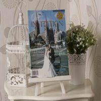 Undangan Pernikahan Majalah Cover Depan