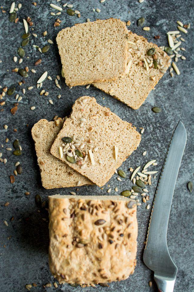 Eine gesunde, Vollkorn Dinkel Laib.  Versuchen Sie Ihr eigenes hausgemachtes Brot Ihre Sandwiches eine ganz neue Ebene von amazing dieser Woche macht!