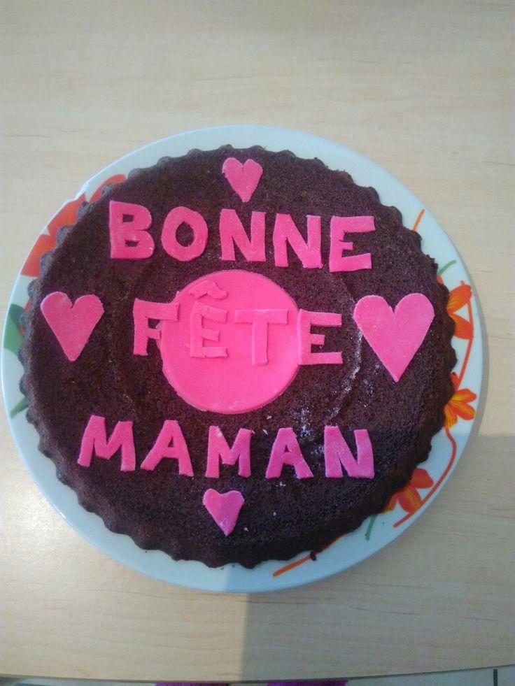 Gâteaux photo fête de maman