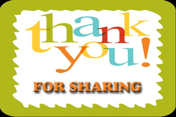 Thank You For Sharing!!!!! images by