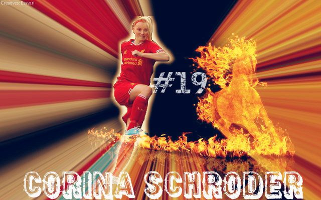 Corina Schroder is a German Int'l player currently playing as Defender in LFC Ladies..#19. Reliable at the back as well as surprises with a goal or two upfront...