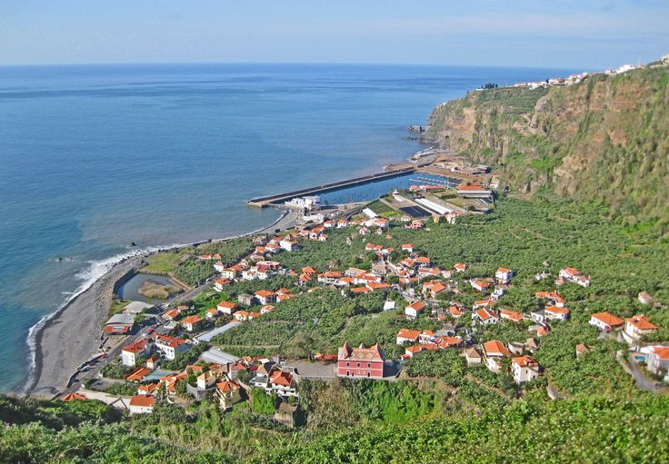 Spectacular views from hiking trails high above Ponta do Sol. Madeira, Portugal homes for sale